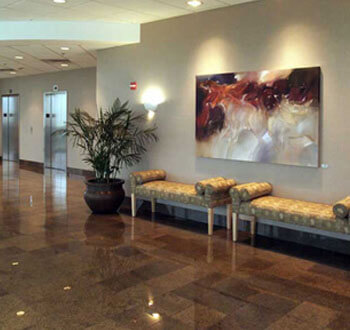 Picture of Dr. Araya's waiting room
